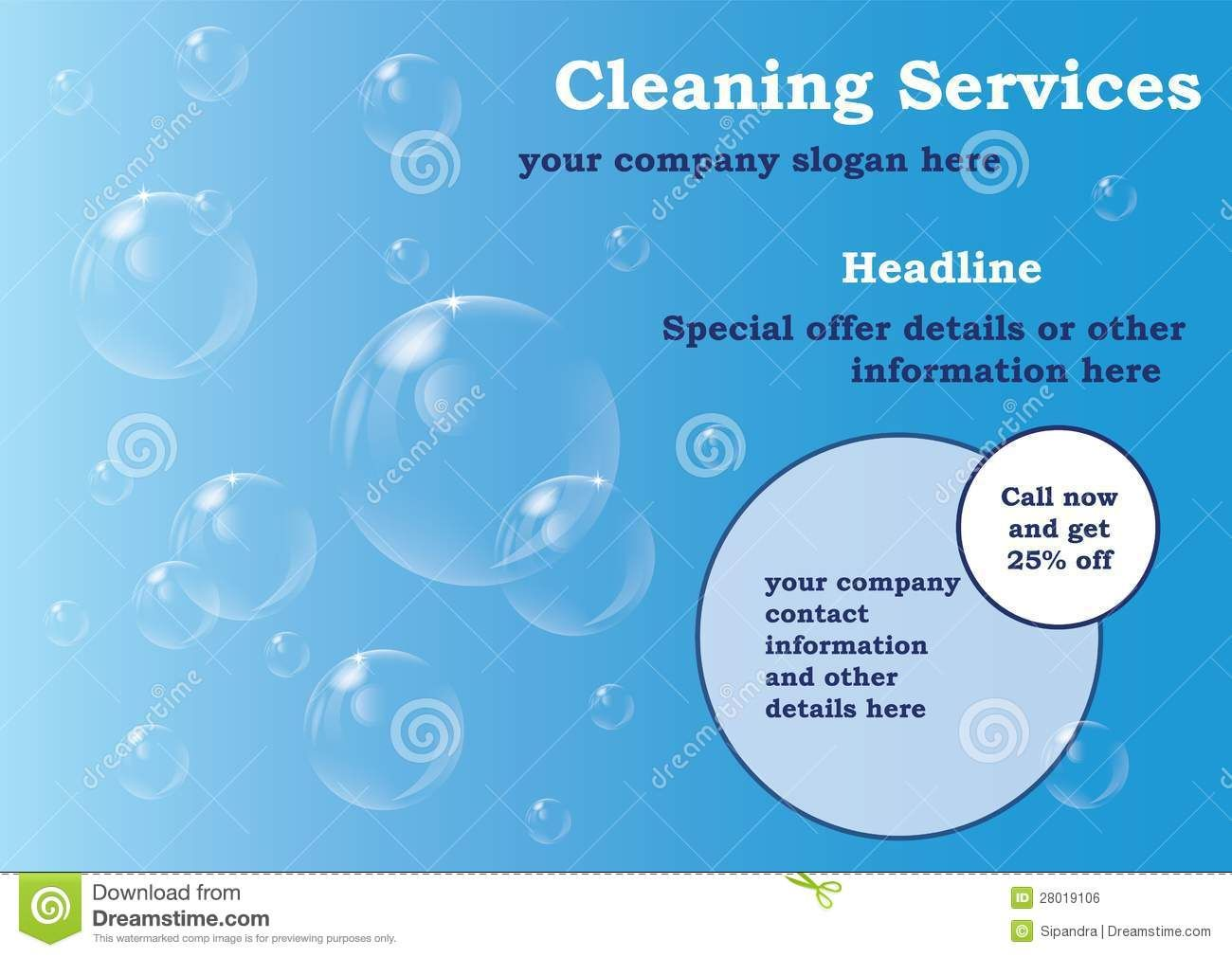 cleaning services flyers samples free koni polycode co