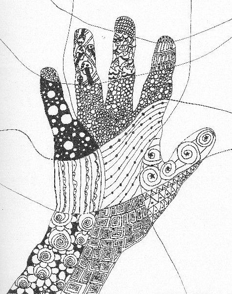 September Adventure Quest Challenge page by Art Journal Caravan Member huntstrong as seen here http://tangiebaxter.com/news/2011/09/06/art-journaling-101-get-tangled-in-the-zen-of-it-all/