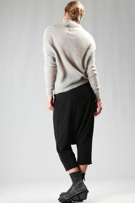 long and soft sweater in heavy and dry mohair - RICK OWENS
