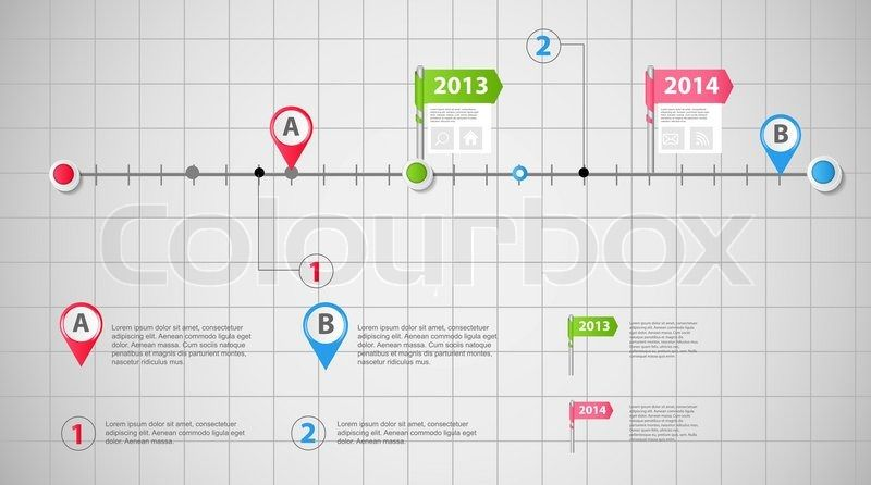 Advertising Plan | Timeline Infographic Advertising Plan Google Search Marketing
