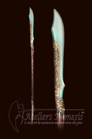Sword staff, Naginata, Glaive