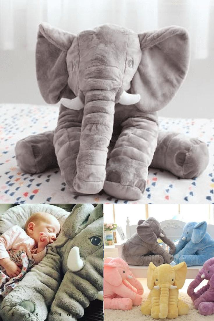 Stuffed Elephant Pillow Baby Toys