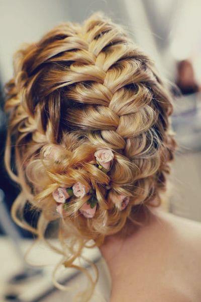Front Crown Braid Into Bun Hair Styles Long Hair Styles