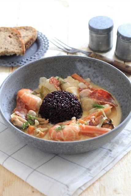 Marmite du pecheur cuisson sous vide recette de la mer cuisson sous vide machine sous vide - Plat cuisine sous vide ...