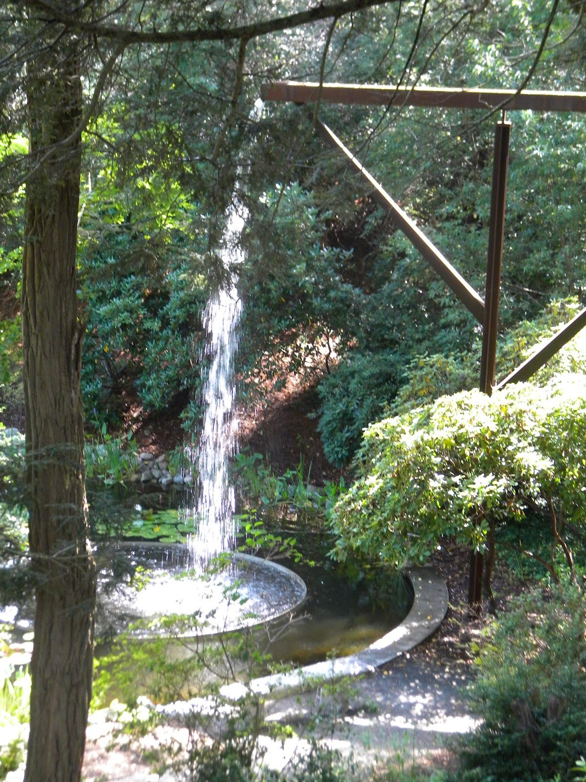 The Flume At Heritage Museums And Gardens In Sandwich Ma Garden