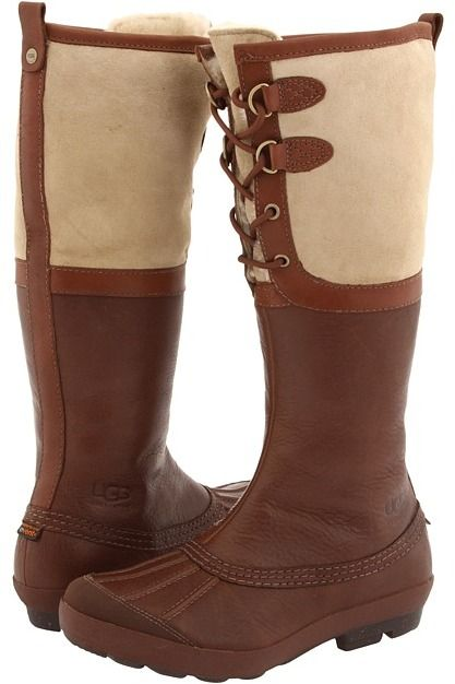 UGG - Belcloud (Cognac Leather) - Footwear for bad weather that meets all my