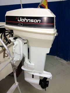 40cv Maintenance Motor Johnson Enosa Navalefects Nautica Embarcaciones