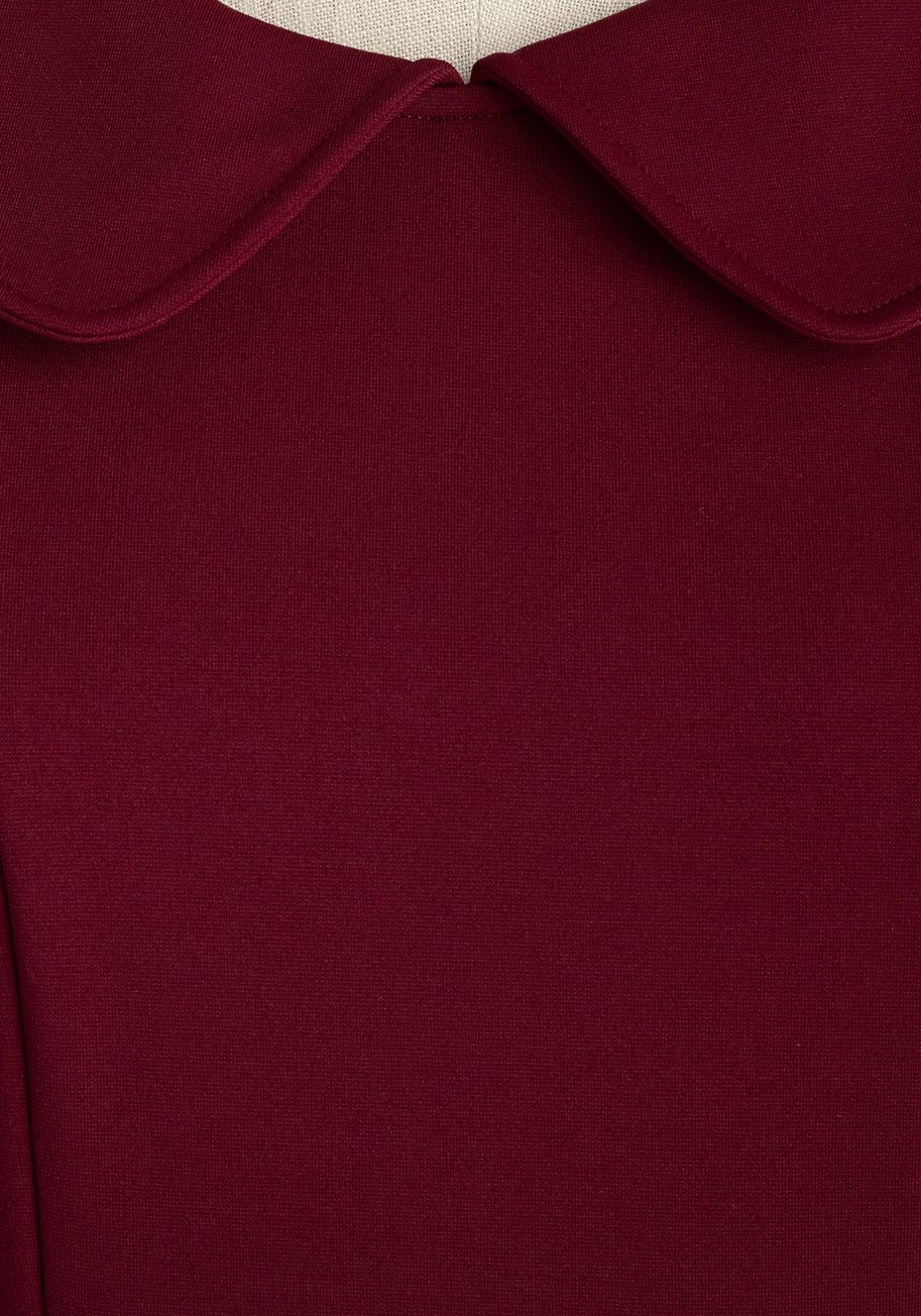 Foxtail & Fern Dress in Merlot. Named after one of our favorite fashion…