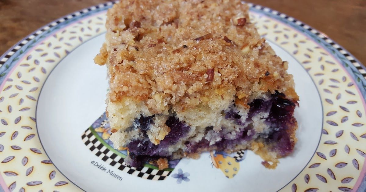 My Patchwork Quilt: BLUEBERRY BUCKLE