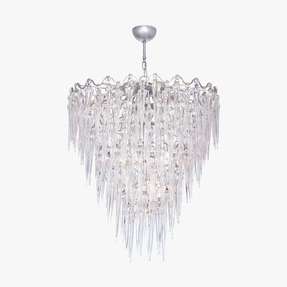 Large icicle chandelier ceiling lights bella figura the large icicle chandelier ceiling lights bella figura the worlds most beautiful lighting aloadofball Gallery
