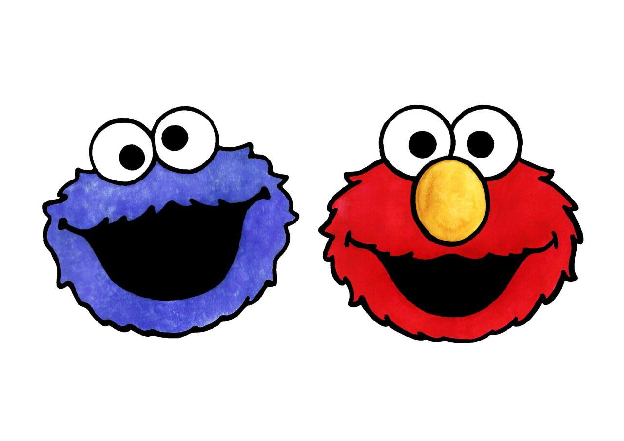 Jasmin Ekstrom Cookie Monster And Elmo In 2020 Cookie
