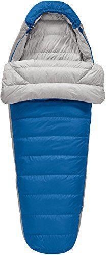 Sierra Designs Zissou Plus 30 Degree Down Sleeping Bag Victoria BlueSleet Grey Long See
