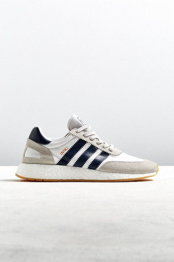 8a4107f9c28d Adidas Iniki Navy + Taupe Runner Sneaker
