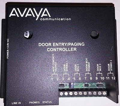 Avaya Viking C 1000 Door Entry Paging Controller 259423a Entry