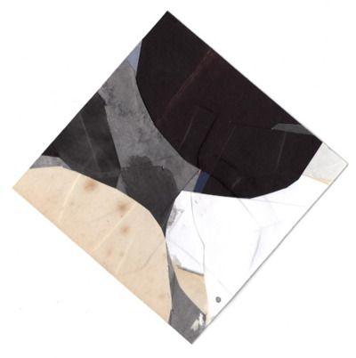 Tom Moglu, Granite # 2 - 116x116mm collage on paper