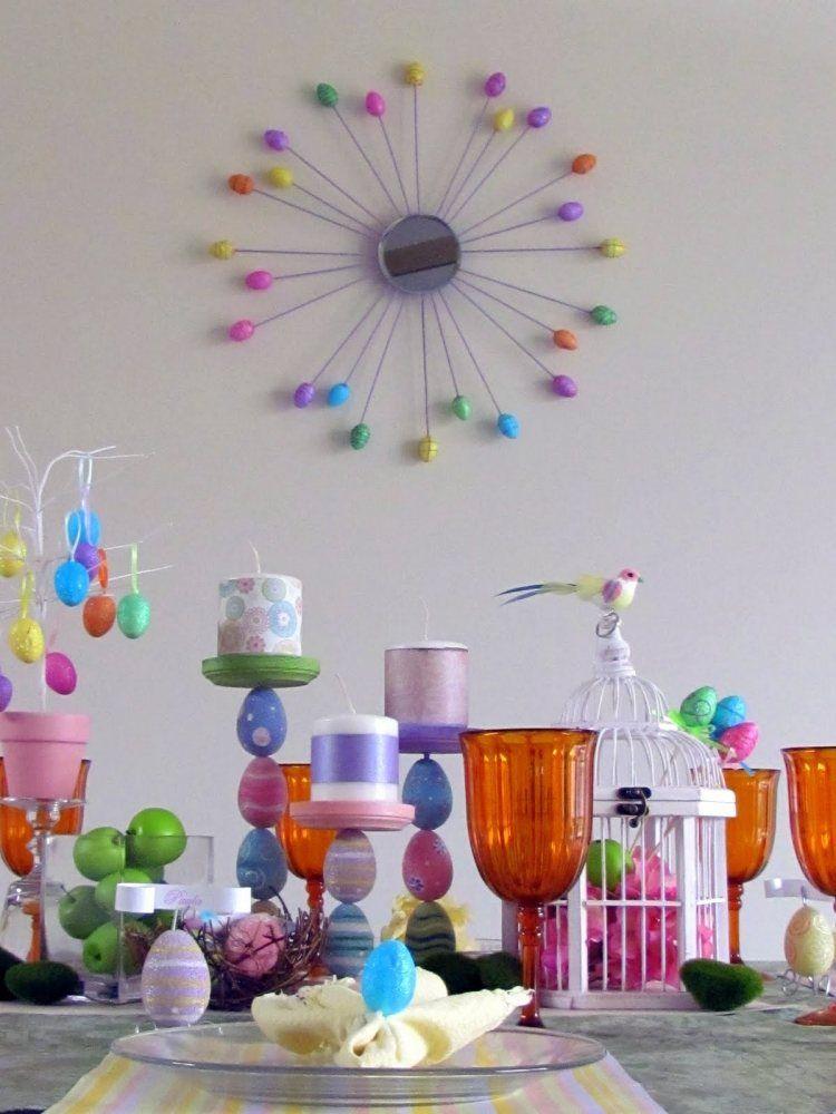 Aujourd`hui, Deavita a le plaisir de vous présenter une belle galerie de photos avec des idées déco DIY pour Pâques. Consacrez juste quelques instants, afi
