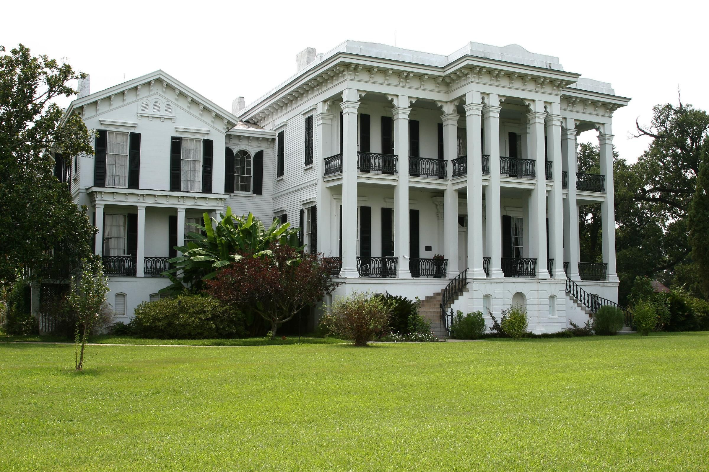 Cotton Plantation House Images