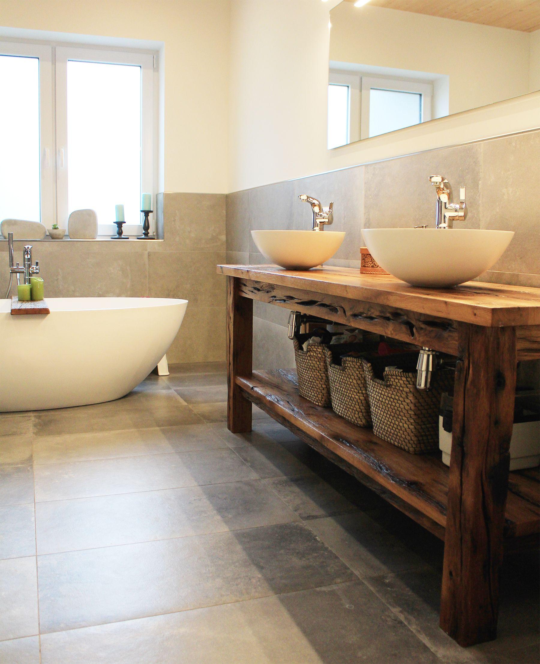 Fruher Bootssteg Heute Waschtisch Badezimmer Innenausstattung Waschtisch Mobel Aus Altholz
