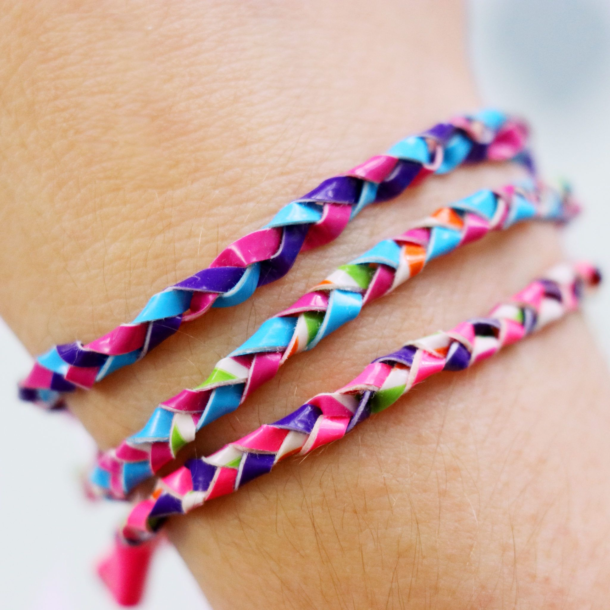 Diy Duct Tape Woven Friendship Bracelets Easy Cute