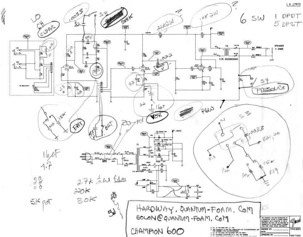 Class Pushpull Tube Power Amplifier Circuit Diagram 2a3a Tech