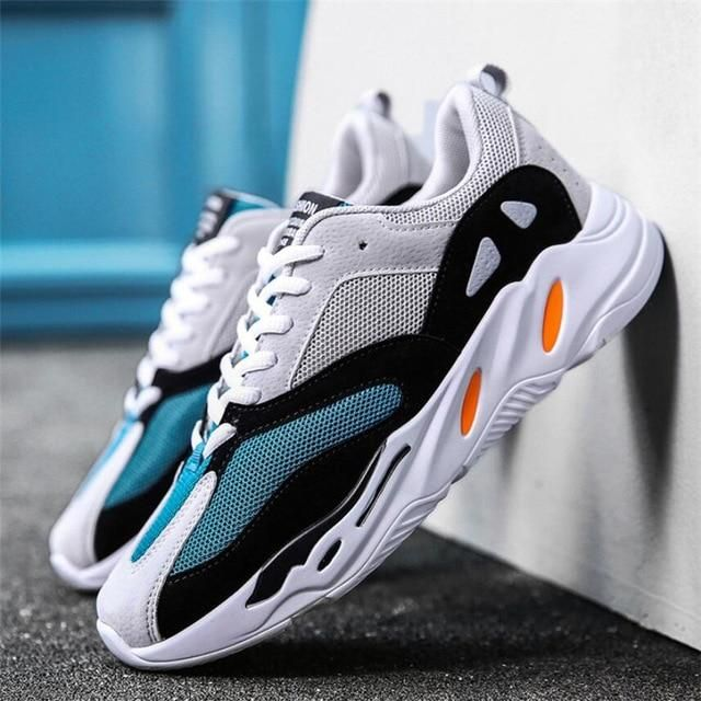 39dc5aaf2d5 Vintage dad Men shoes 2018 kanye west fashion mesh light breathable men  casual shoes men sneakers zapatos hombre 700