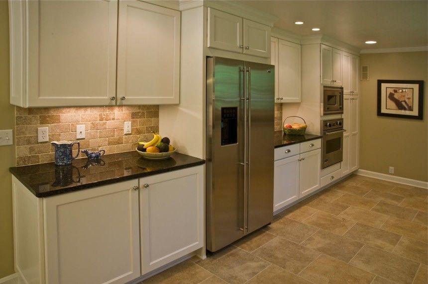 Kitchen Design U2026 White Galley ...