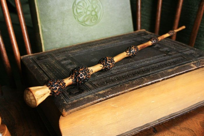 Elder wand the wizarding world pinterest wand for Wooden elder wand