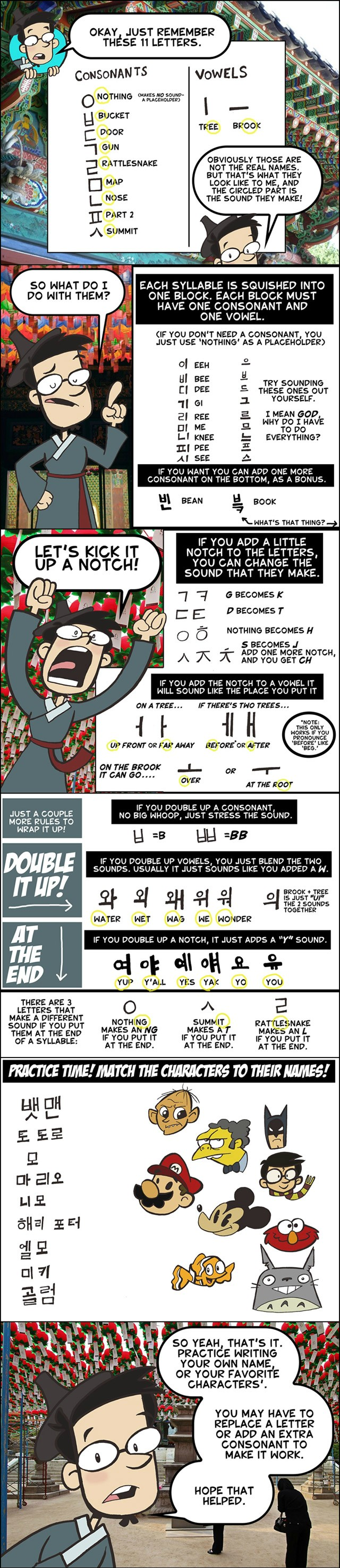 Pin By Emily Brittain On Make Me Laugh Clown Learn Korean Korean Language Korean Language Learning How to read korean in minutes