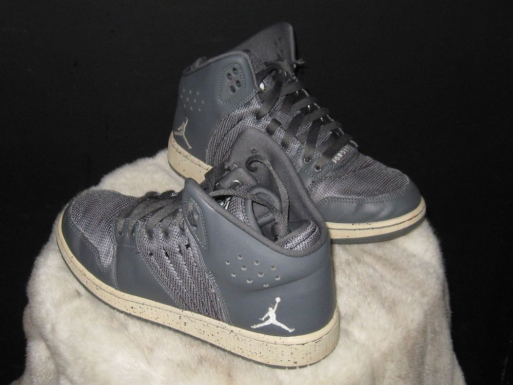 best loved d7dd4 c37d8 Boys Nike Air Jordan 1 Flight 4 Prem BG Sneakers Sz 6.5Y Gray 828237-002   Jordan  BasketballShoes