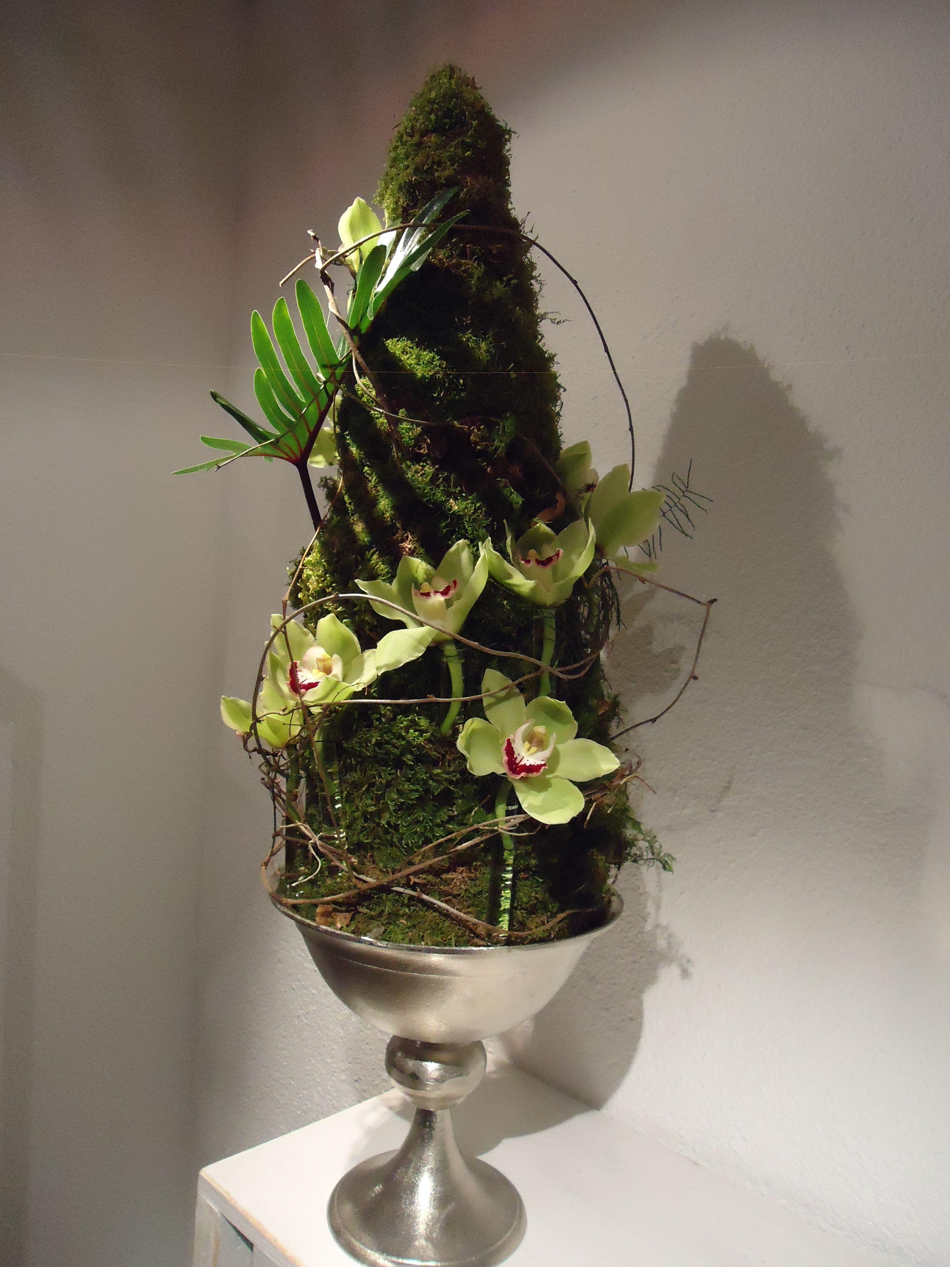 florales Objekt Design:Hansjörg Renner Blumen Renner, Lörrach