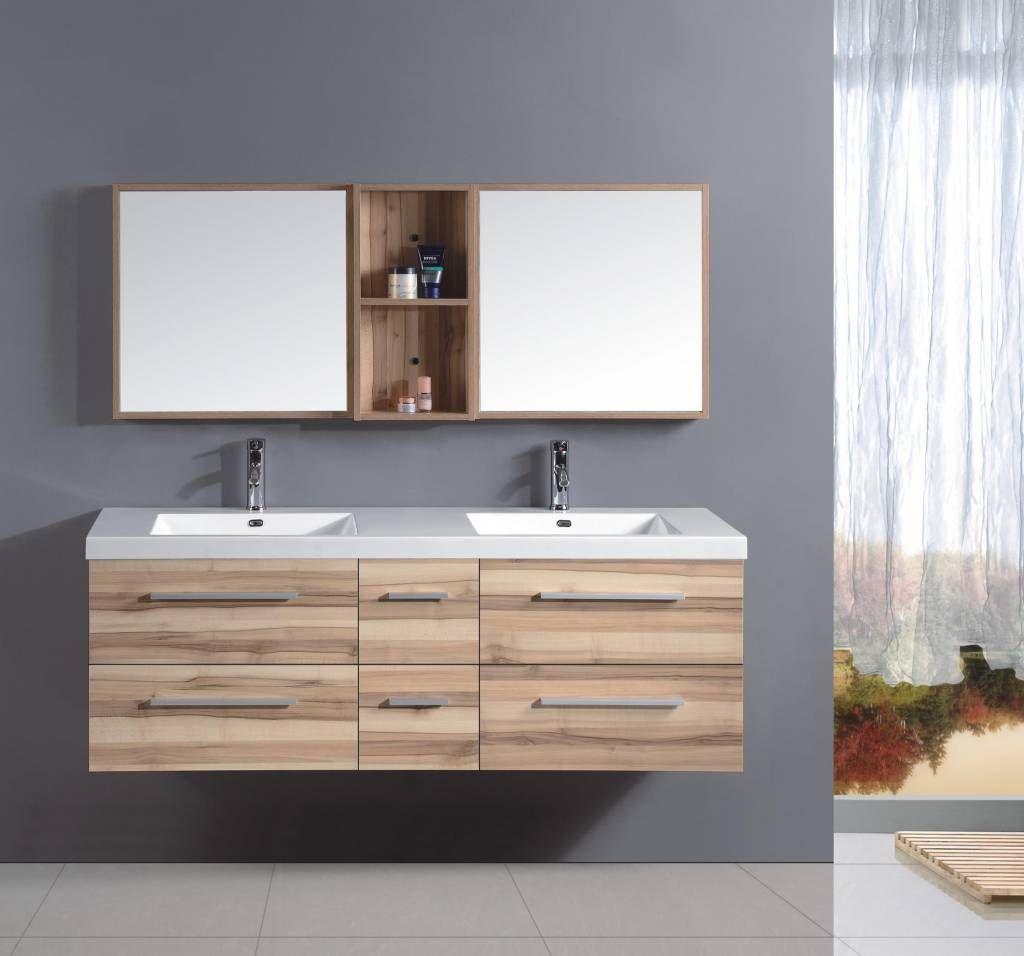 Doppelwaschtisch Badezimmermöbel 1600mm | Doppelwaschtisch ... | {Doppelwaschtisch mit unterschrank und spiegelschrank 17}