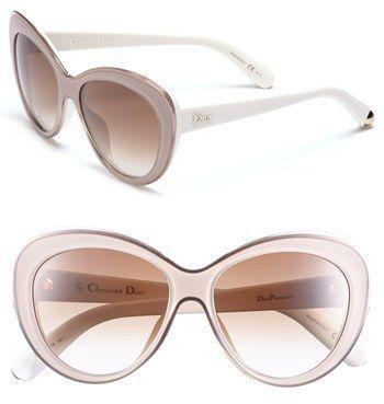 33c233300dd Dior  Promesse 1  55m Cat Eye Sunglasses