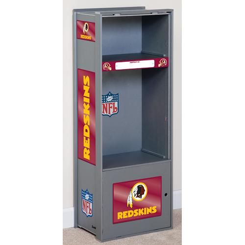 Franklin Washington Redskins Kids Wooden Locker Idea For Baseball Room