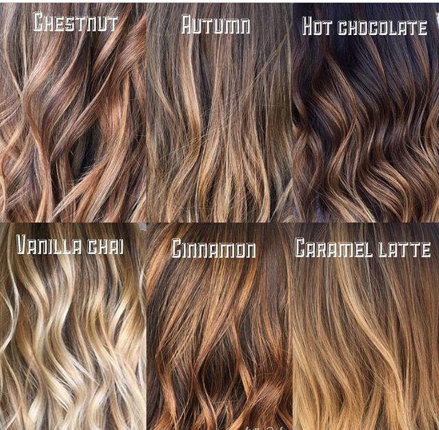Vanilla Chai Or Chestnut Brown Hair Color Shades Cinnamon Hair