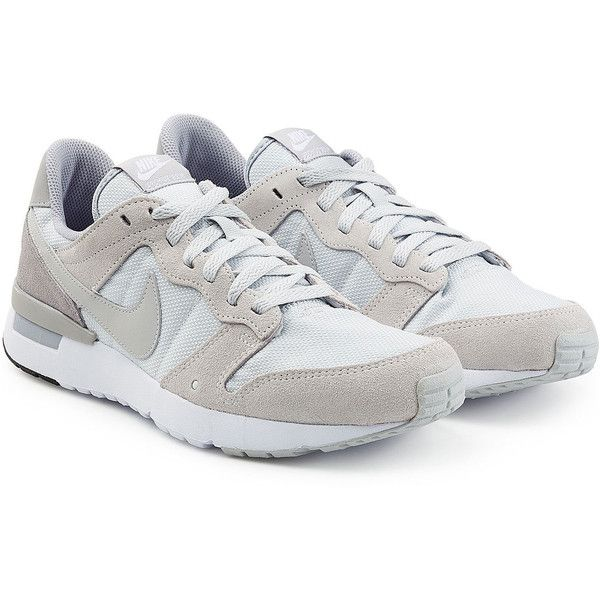 Nike Internationalist Suede and Mesh Sneakers featuring