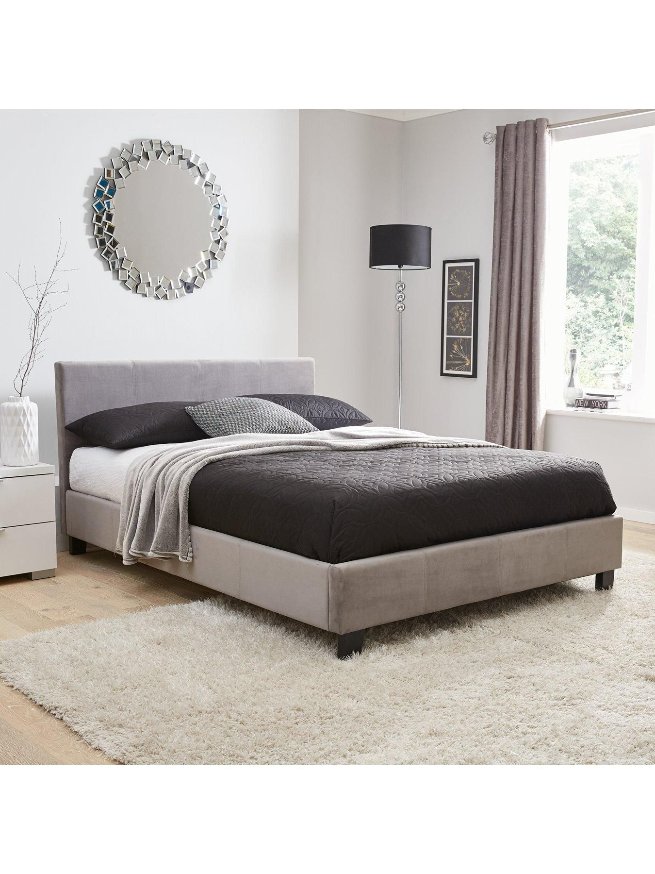 Christie Fabric Bed Frame With Mattress Options Buy And Save