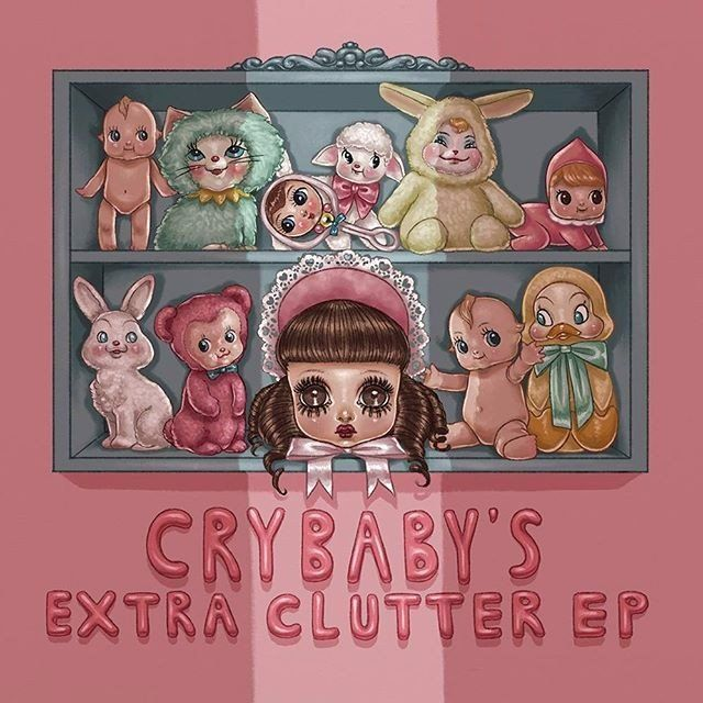 Get All The Lyrics To Songs On Cry Baby 39 S Extra Clutter Vinyl Ep And Join The Genius Community Of Mus Melanie Martinez Melanie Martinez Drawings Cry Baby