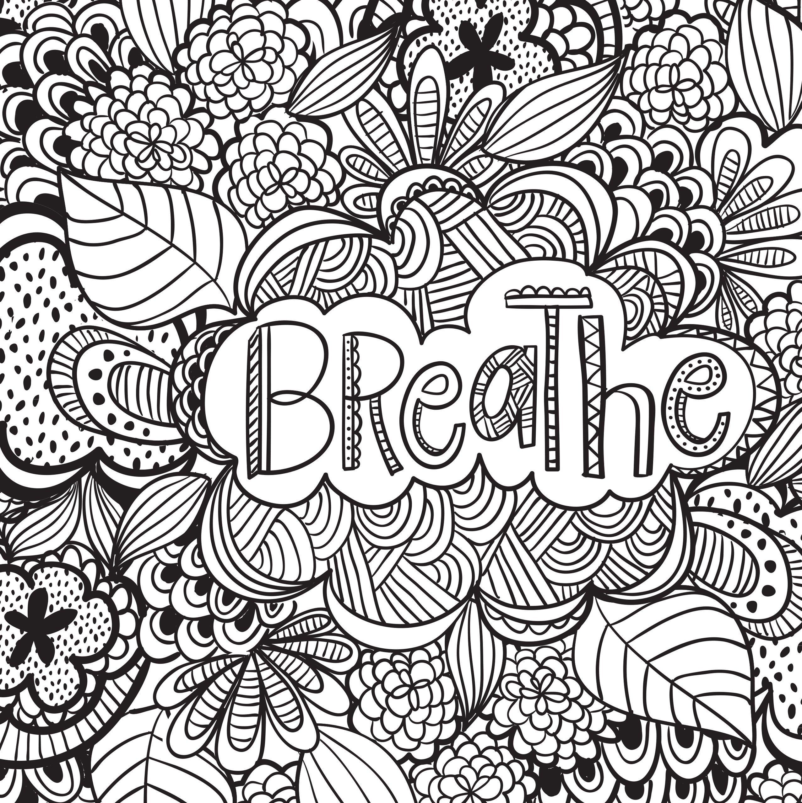 Joyful Inspiration Adult Coloring Book (31 stress ...