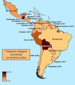 Mapa De Población Indígena Porcentual Atlas Sociolingüístico De - Mapa de united states