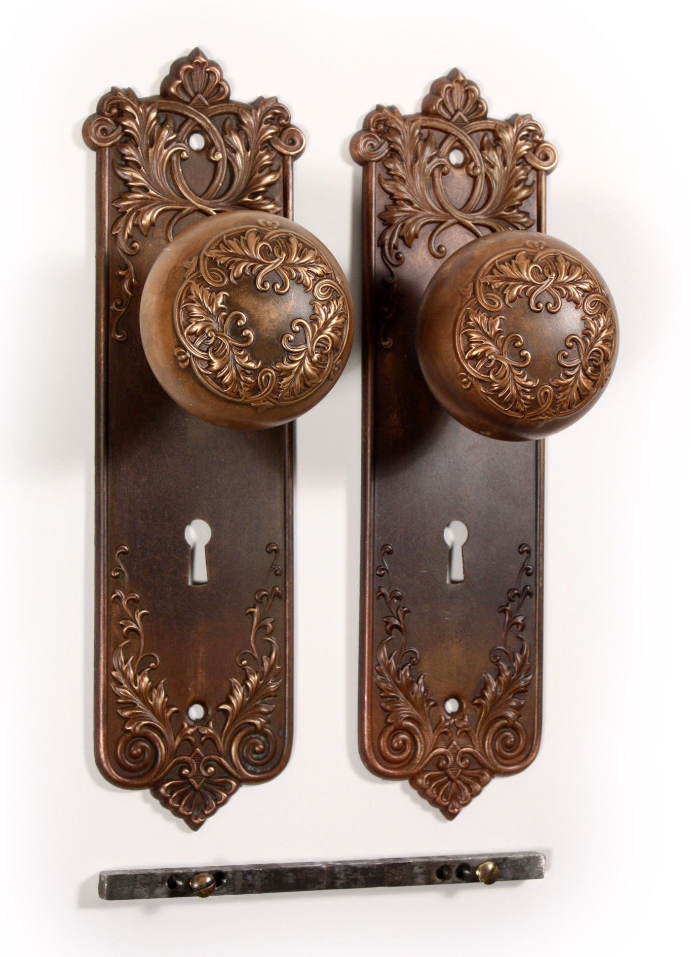 Antique Hardware, Home Hardware, Antique French Doors, Antique Art,  Porcelain Door Knobs
