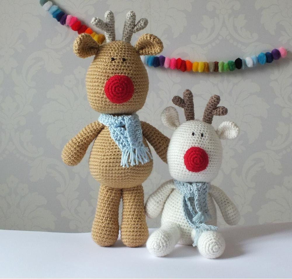 Crochet Reindeer Toy | Yarns, Stitch and Crochet