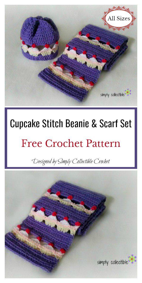 Cupcake Stitch Free Crochet Pattern and Video Tutorial | Crochet ...