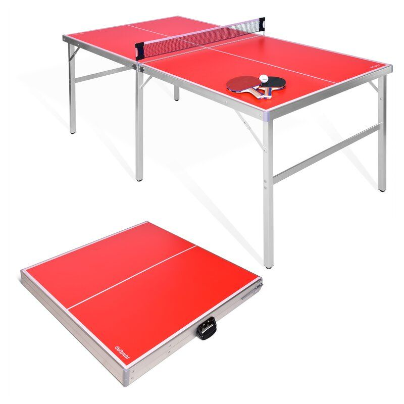 Foldable Indoor Outdoor Table Tennis Table With Paddles And Balls 64mm Thick Outdoor Table Tennis Table Modern Furniture Living Room Indoor Indoor outdoor ping pong table