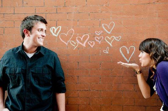 cute engagement photos.....