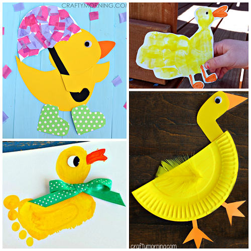 Here are some fun duck crafts for kids to make! Find paper plate ...
