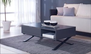 code promo ae399 b7f41 Groupon - Table basse relevable Anthracite à 199,99 ...
