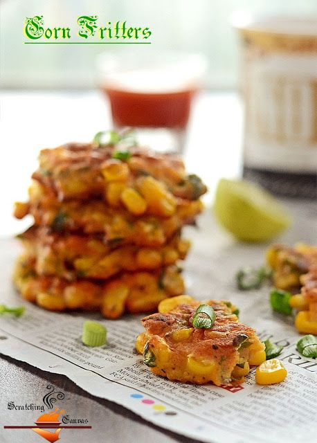 Mexican Corn Fritter