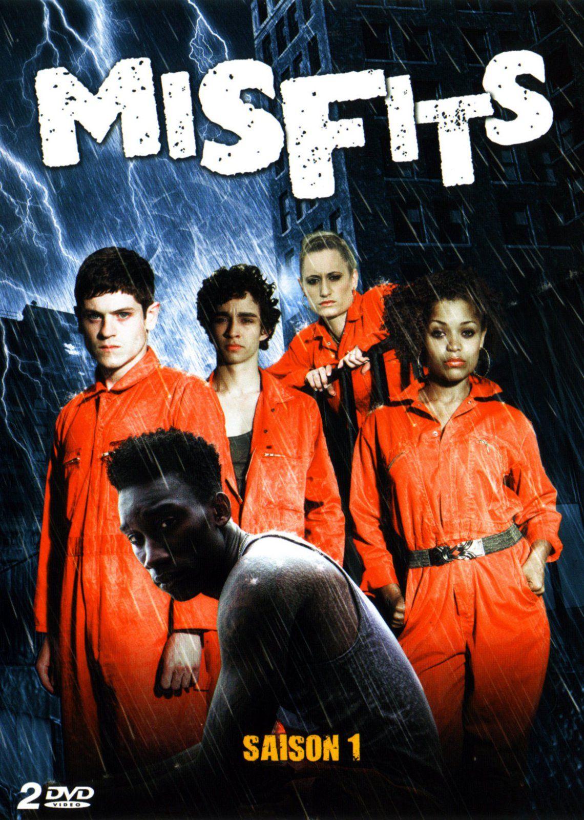 Misfits Misfits Tv Series Movies