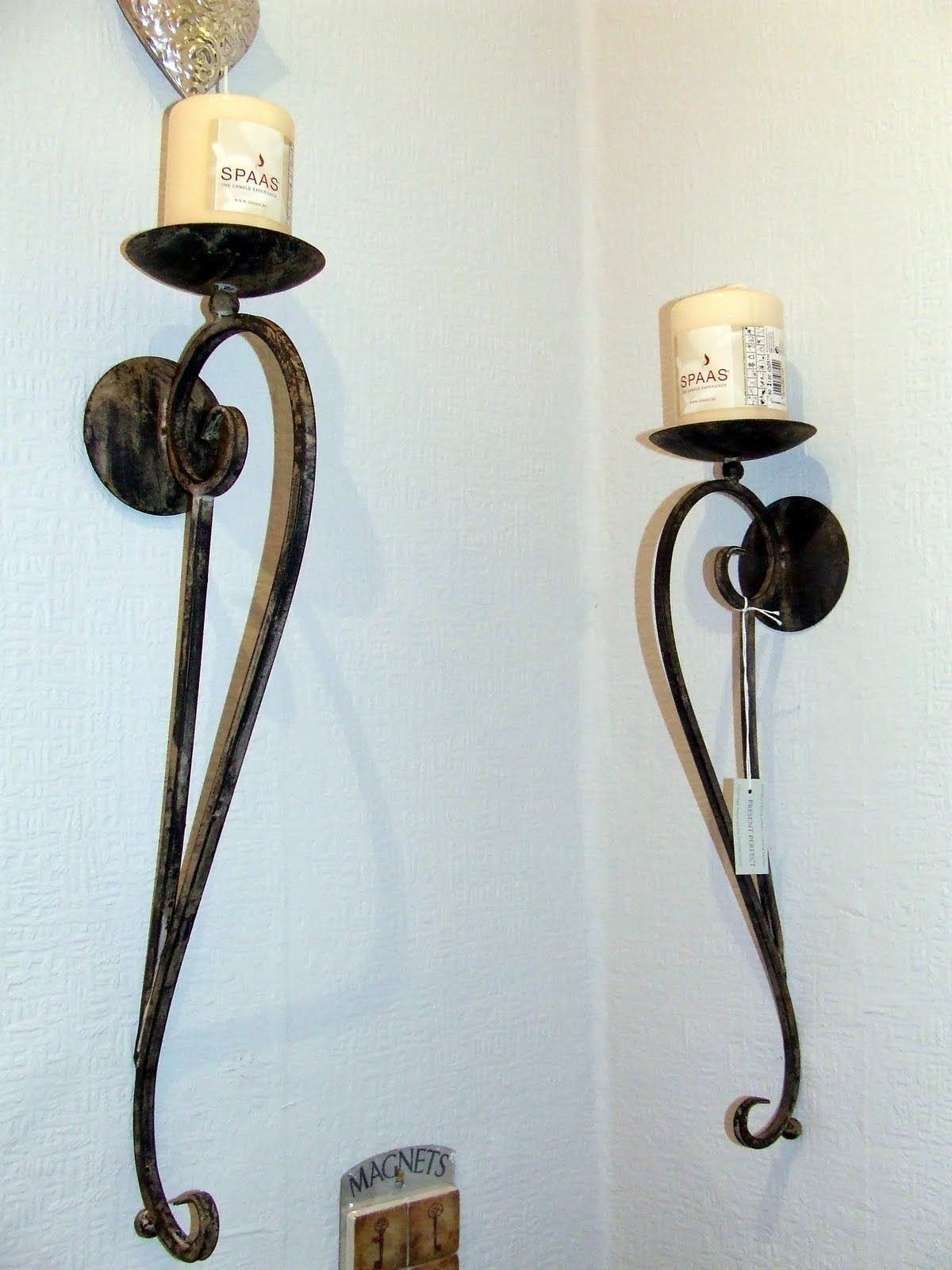 Furnitured glamorous candle wall sconces designs to beautify your