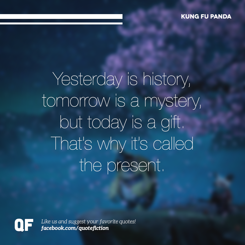 Kung Fu Panda Oogway Quotes: Thank You, Master Oogway. Kung Fu Panda Is One Of My
